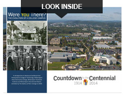 Centennial book series: Were You There? The Evolution of a College Campus