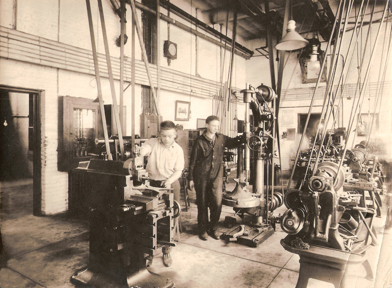 Machine Shop, 1918