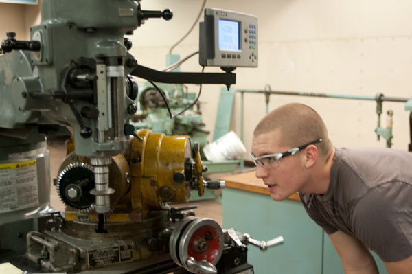 Machine Tool Technology classroom