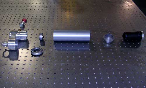 The spindle assembly is the last piece that we make.