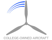 College-owned aircraft