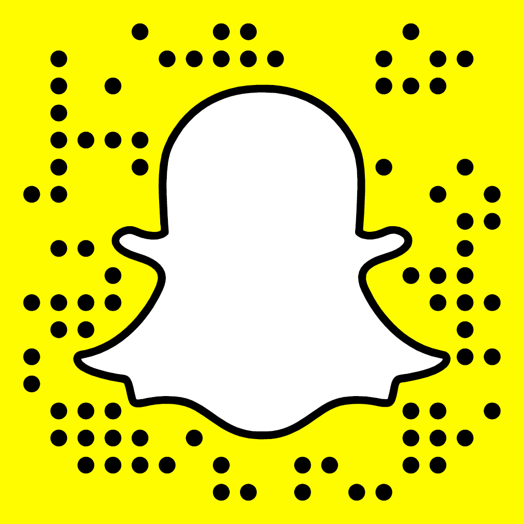 Scan with Snapchat to add PennCollege to your friend list