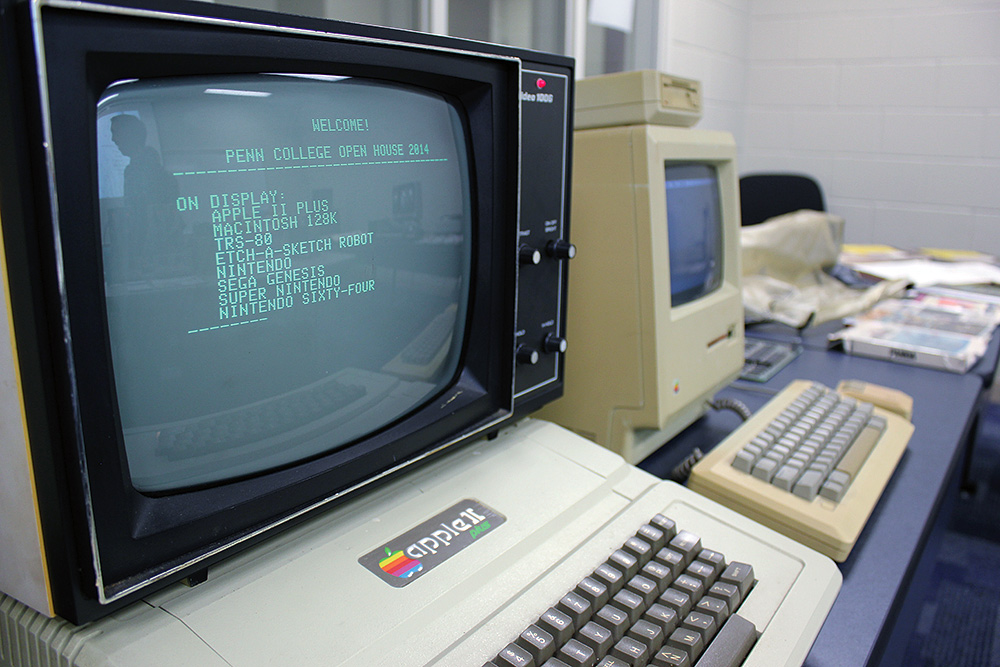 Computing machinery from the past. Photo by Becky J. Shaner.
