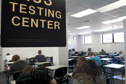 The Test Center At Pennsylvania College Of Technology Provides A Quiet Secure Environment In Which To Administer Makeup Exams For Students Who Were Unable