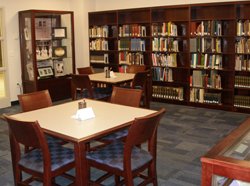 A view inside the Archives Reading room.
