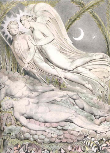 "Paradise Lost by John Milton, ""Adam and Eve Sleeping"" Pg. 104 & 105"