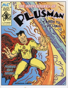 The Addventures of Plusman cover.