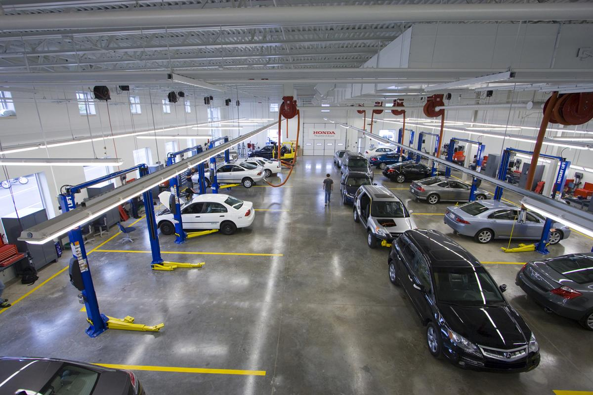 Automotive lab.