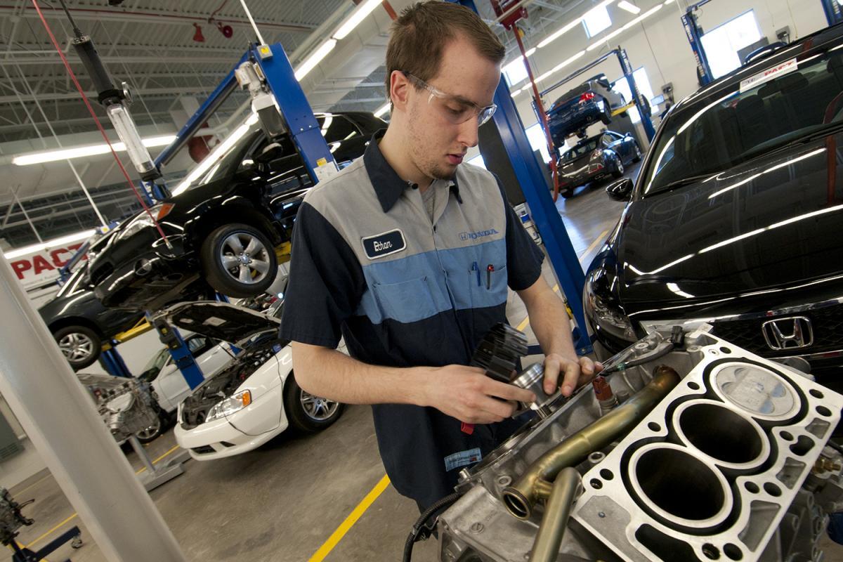 Honda PACT student.