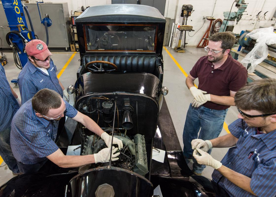 Automotive Restoration students.
