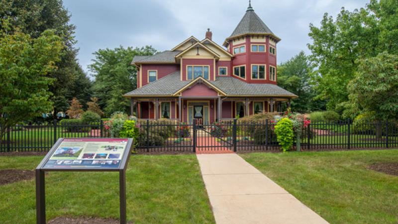 The Victorian House was designed by Mark E. Kessler , '94, architectural technology, of Gettysburg. The structure blends modern construction technologies with the rich Victorian heritage of the Williamsport neighborhood adjacent to the campus.