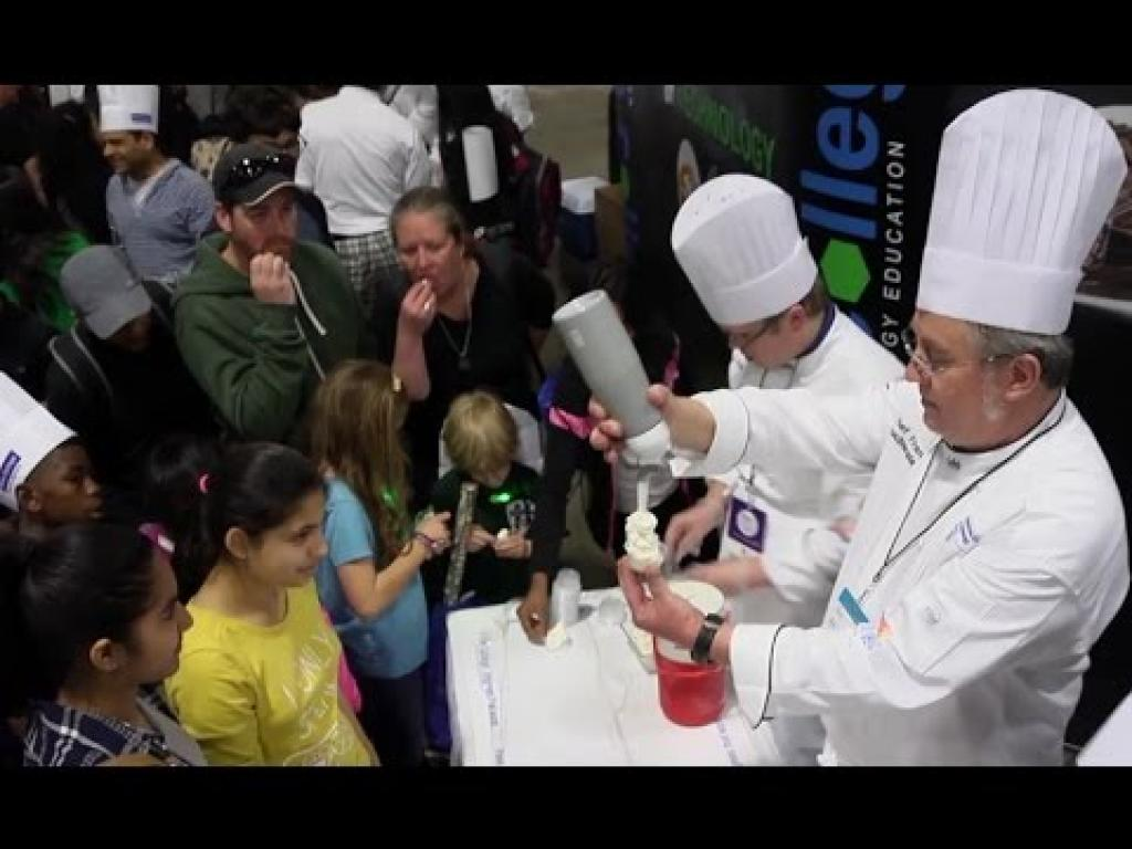 Culinary Students Add Flavor To National Science Festival