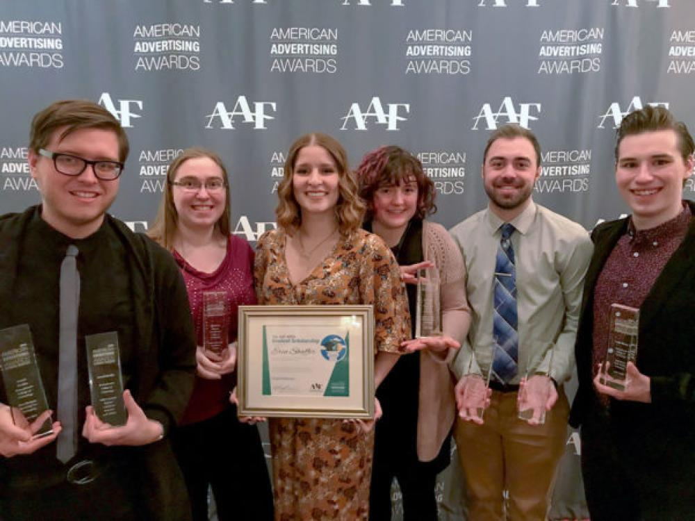 Our graphic design students earn national acclaim