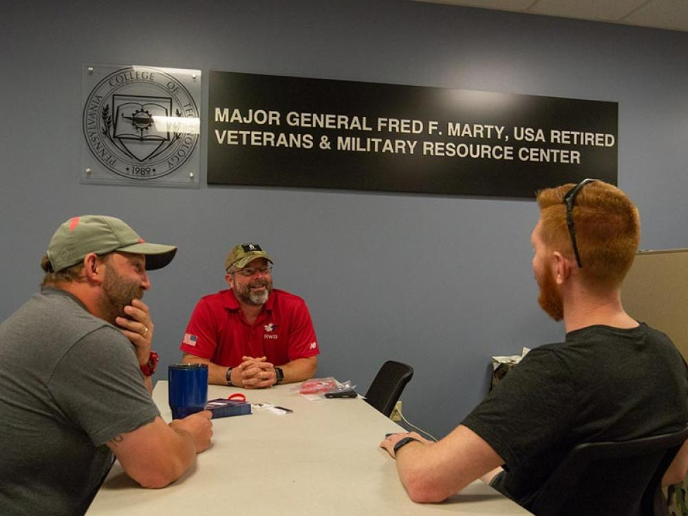 Major General Fred F. Marty, USA Retired, Veterans & Military Resource Center